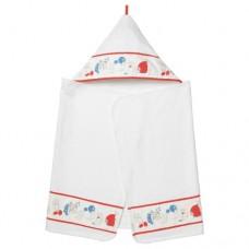 منشفة مع غطاء