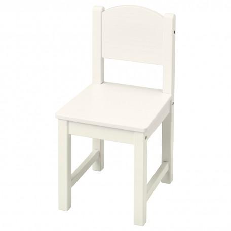 كرسي أطفال لون أبيض