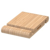 حامل لأجهزة الموبايل او التابلت خشب خيزران