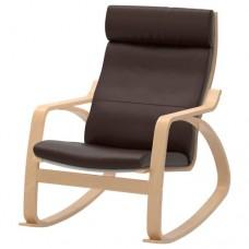 كرسي هزاز, قشرة بتولا, بني داكن