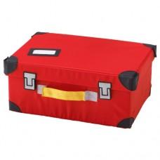 صندوق للعب لون أحمر