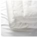 لحاف سرير أطفال لون أبيض