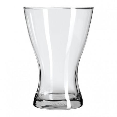 مزهرية زجاج شفاف 20 سم