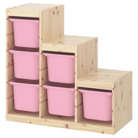 مجموعة تخزين شامل 6 صناديق تخزين