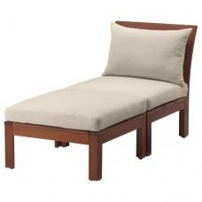 كرسي مريح مع مسند للقدمين