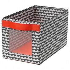 صندوق لون أسود وأبيض