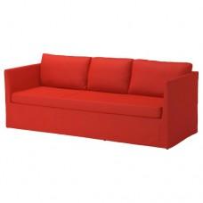 صوفا 3 مقعد لون رمادي-أخضر او احمر