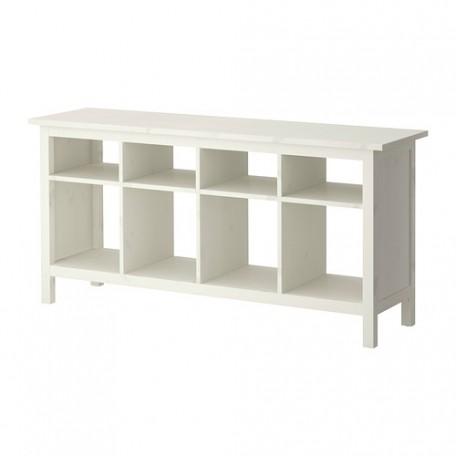 طاولة كونسول ملون أبيض