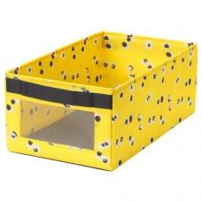 صندوق لون أصفر