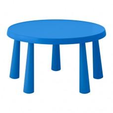 طاولة أطفال للأماكن الداخلية/الخارجية أزرق