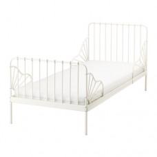 سرير الأمراء الصغار لون أبيض 80*200 سم + فرشته الملائمة