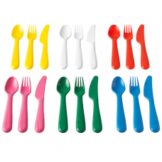 طقم أدوات تناول الطعام  18 قطعة