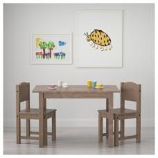 طقم طاولة + كرسيين