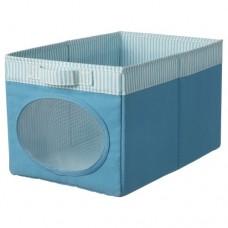 صندوق لون أزرق