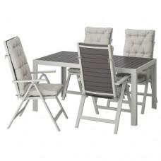 طاولة + 4 كراسي قابلة للتعديل