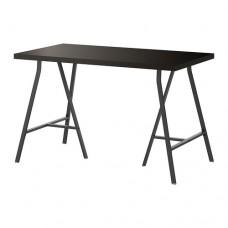 طاولة مكتب لون بني-اسود 120x60 سم