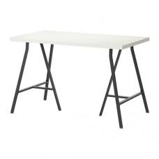 طاولة مكتب لون ابيض 120x60 سم