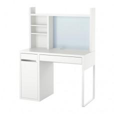 مكتب عمل حجم 105x50 سم لون ابيض