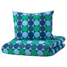 طقم مفرد - أزرق / أخضر