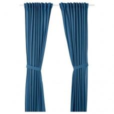 ستارة بشرائط ربطة عنق / جناحين - ازرق