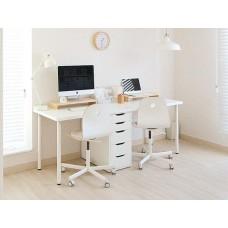 طاولة مكتب مع جوارير 200x60 سم